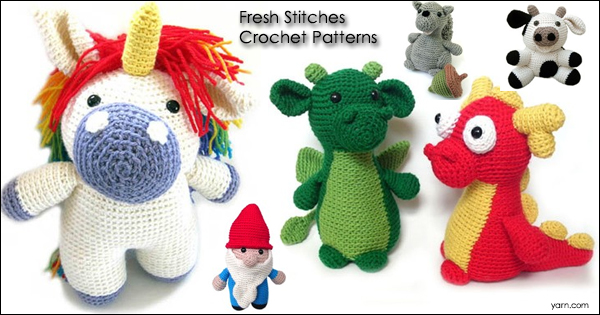 Fresh Stitches Crochet Patterns