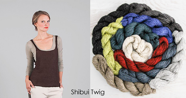 Shibui Twig available at yarn.com