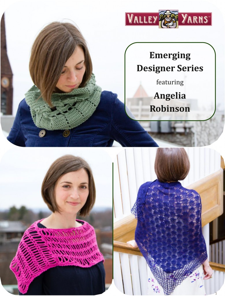 WEBS Emerging Designer Spring 2015 eBook - featuring designs by Angelia Robinson - available now at yarn.com