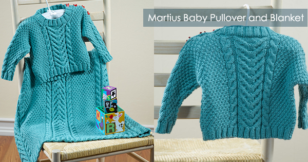 Martius Baby Pullover and Blanket