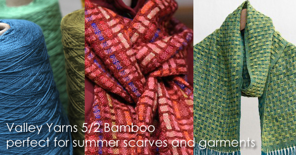 Valley Yarns 5/2 Bamboo, on sale through May 31, 2015 in WEBS Anniversary Sale at yarn.com