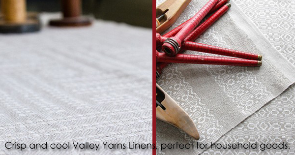 Valley Yarns Fine Linens, on sale through May 31, 2015 in WEBS Anniversary Sale at yarn.com