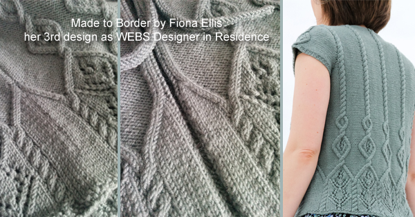 Exploring cables with Fiona Ellis, Made to Border, on the WEBS Blog - read more at blog.yarn.com