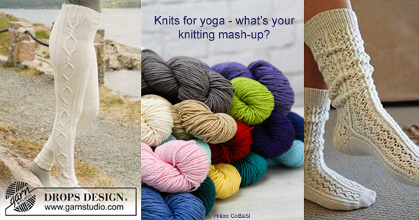 Would you knit yoga pants? Knitting mash-ups on the WEBS Blog -  blog.yarn.com