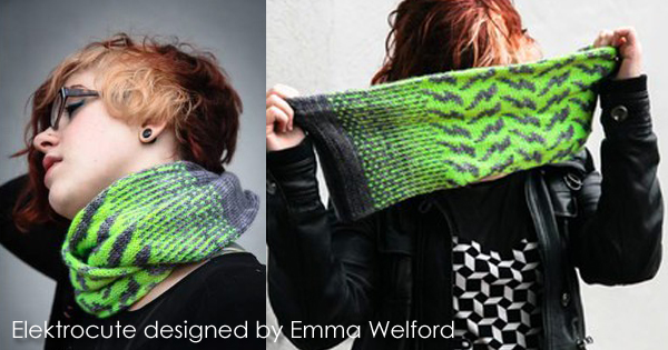 Elektrocute and more designs by Emma Welford on the WEBS Blog - blog.yarn.com