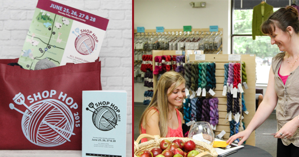 The Annual I-91 Shop Hop is just around the corner. Get your passport now! Read more at blog.yarn.com
