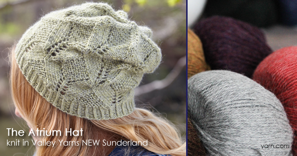 Valley Yarns Sunderland now available at WEBS and yarn.com