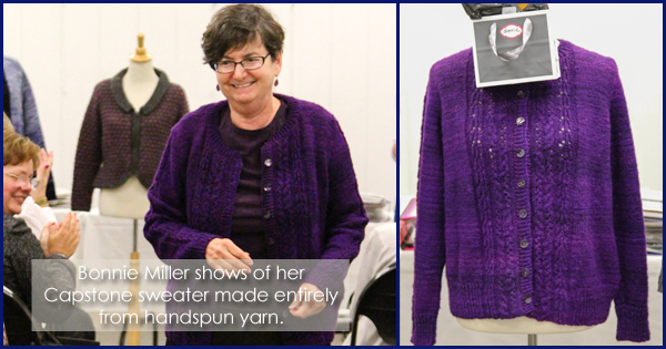 WEBS 2015 Expert Knitter Graduation Ceremony, more on the WEBS Blog - blog.yarn.com