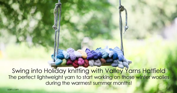 Valley Yarns Hatfield now available at WEBS and yarn.com