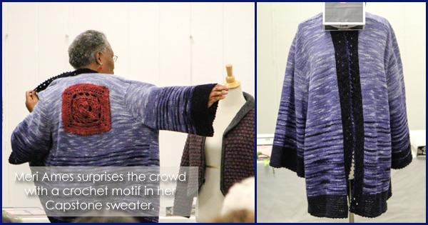 WEBS 2015 Expert Knitter Graduation Ceremony, more on the WEBS Blog - blog.yarn.com