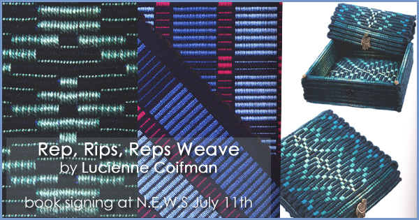 REP, RIPS, REPS Weave by Lucienne Coifman, available at yarn.com