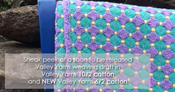 Valley Yarns 6/2 unmercerized cotton now available at WEBS and online at yarn.com. Read more on the WEBS Blog at blog.yarn.com