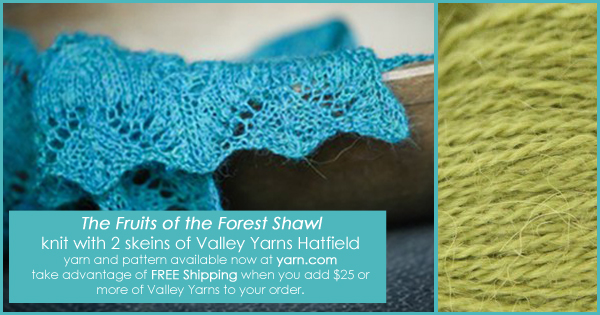 Take advantage of our End of Summer FREE Shipping promo - now through Aug 30th. Details on the WEBS Blog at blog.yarn.com