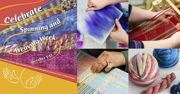 Mini Workshops to Celebrate Spinning and Weaving Week at WEBS! Read more on the WEBS Blog at blog.yarn.com