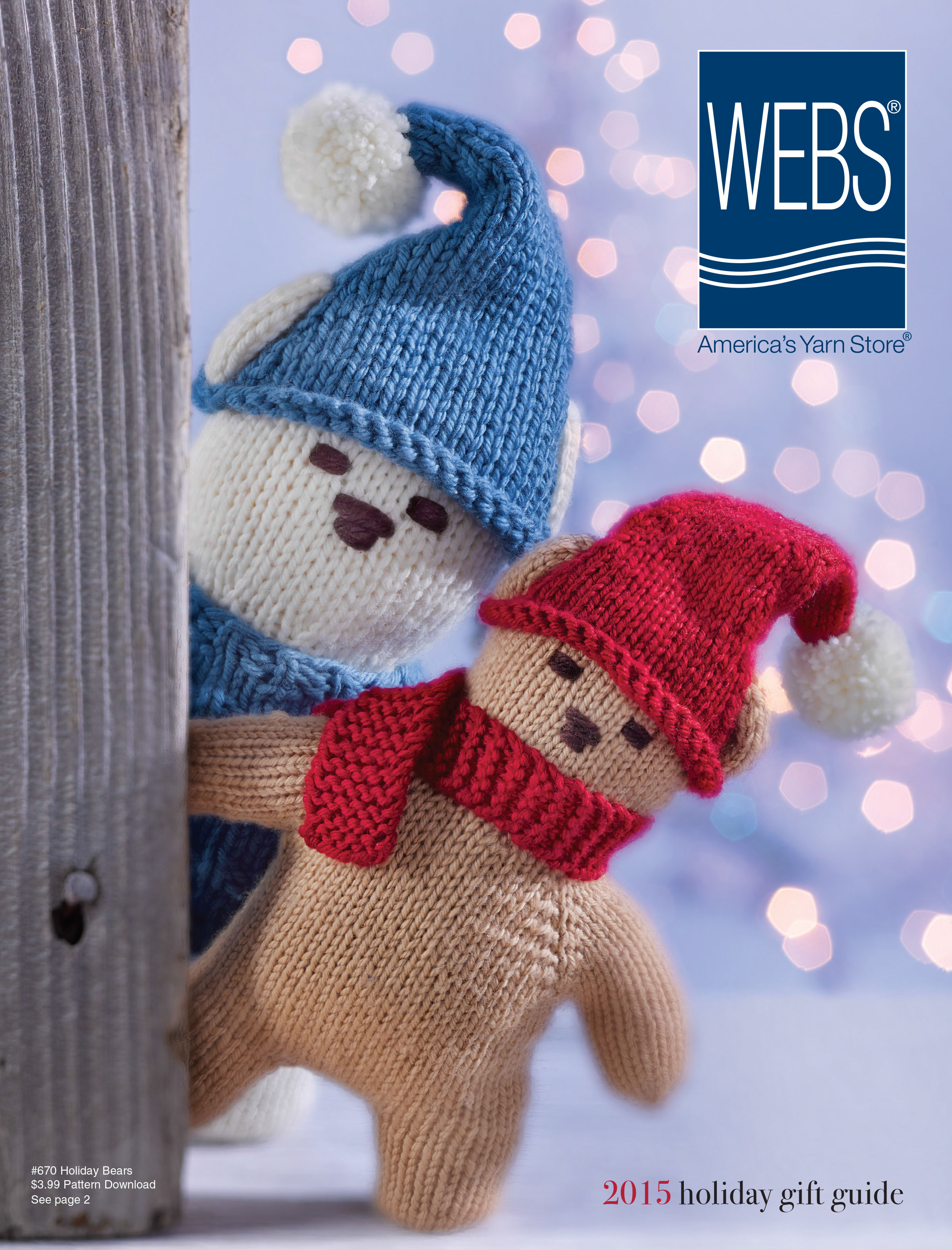 WEBS 2015 Holiday Catalog. Read more on the WEBS Blog at blog.yarn.com