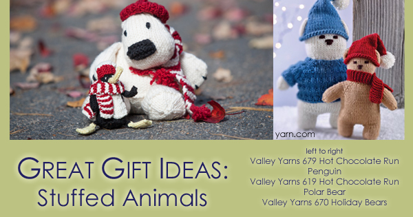 Quick gift knits, stuffed animals on the WEBS Blog. Read more at blog.yarn.com