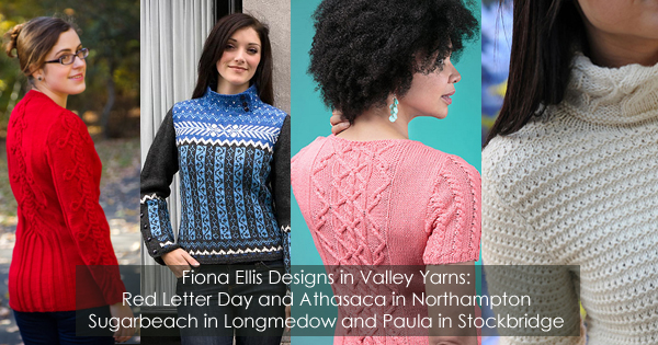 Fiona Ellis designs with Valley Yarns. Read more on the WEBS Blog at blog.yarn.com