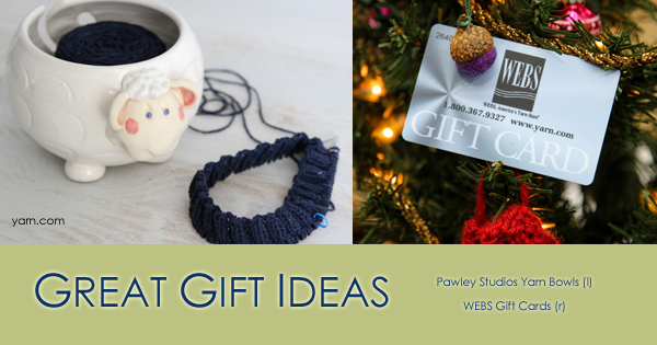 Gifts for Fiber Enthusiasts - read more on the WEBS Blog at blog.yarn.com