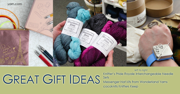 Gifts for Knitters - read more on the WEBS Blog at blog.yarn.com