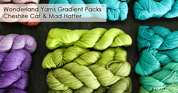 Wonderland Yarns Gradient Packs at yarn.com