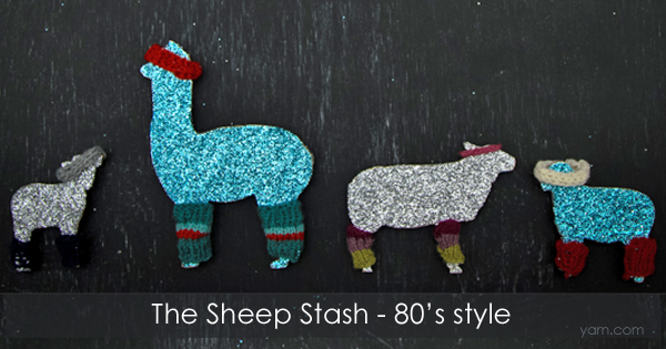 Purchase and decorate your own Sheep Stash from Juniper Moon Farms through 12/15/15, proceeds go to Heifer International. Read more on the WEBS Blog at blog.yarn.com