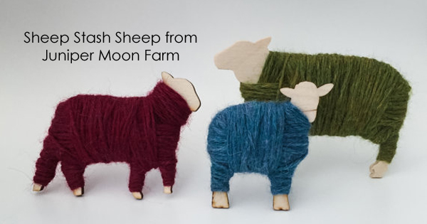 Purchase your own Sheep Stash from Juniper Moon Farms through 12/15/15, proceeds go to Heifer International. Read more on the WEBS Blog at blog.yarn.com
