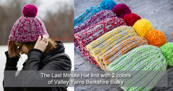Last minute gifts to make on the WEBS Blog. Read more at blog.yarn.com
