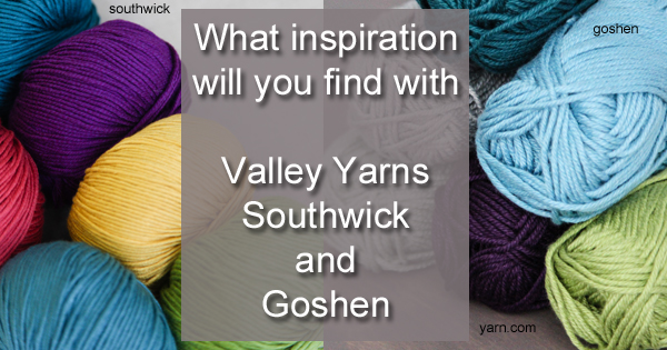 Submit your ideas in the April/May Valley Yarns design submission call. read more on the WEBS Blog at blog.yarn.com Submissions due December 27th, 2015.