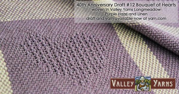 Valley Yarns weaving drafts available at yarn.com Read more on the WEBS Blog at blog.yarn.com