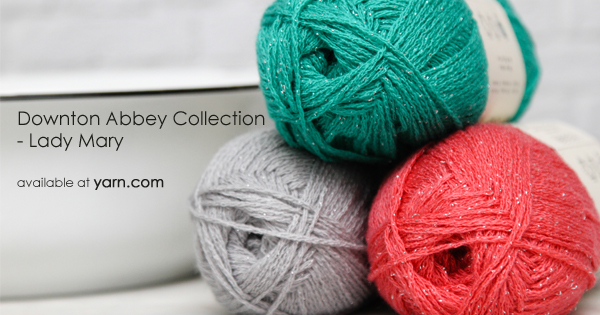 Downton Abbey Collection yarns available at yarn.com