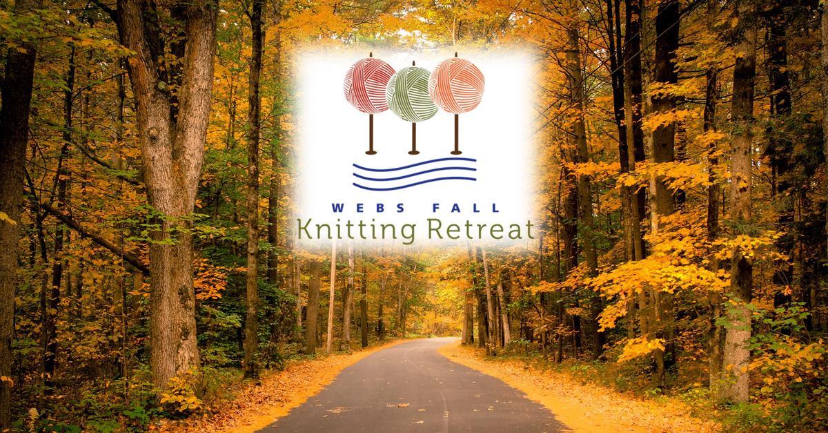 WEBS Fall Knitting Retreat Sept. 16-18, 2016. Registration open Feb. 8th. Read more on the WEBS Blog at blog.yarn.com