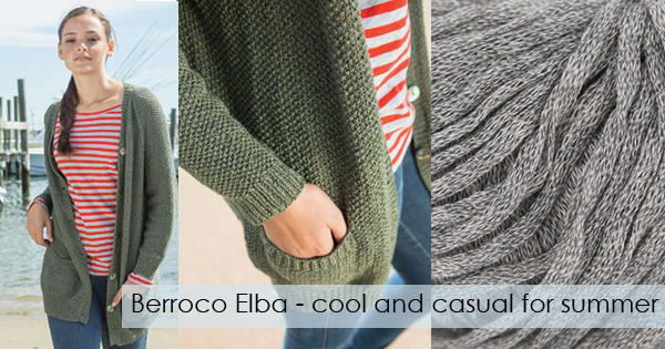 Berroco Elba available now at yarn.com Read more on the WEBS Blog at blog.yarn.com