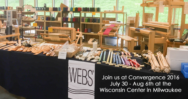 WEBS will be at Convergence 2016. Read more on the WEBS Blog at blog.yarn.com