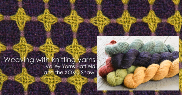 How to choose the right knitting yarn for your next weaving project on the WEBS Blog at blog.yarn.com