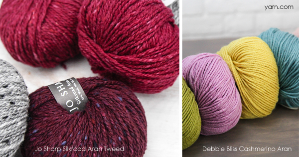Cashmere yarns in WEBS 42nd Anniversary Sale. Read more on the WEBS Blog at blog.yarn.com
