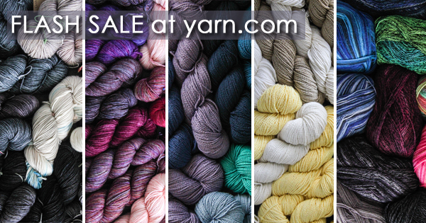 Take advantage of fantastic sale prices now through April 23, 2016 at yarn.com. read more on the WEBS Blog at blog.yarn.com