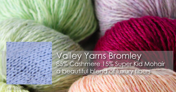 Valley Yarns Bromley on the WEBS Blog at blog.yarn.com