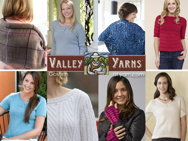 Valley Yarns Goshen! On the WEBS Blog at blog.yarn.com