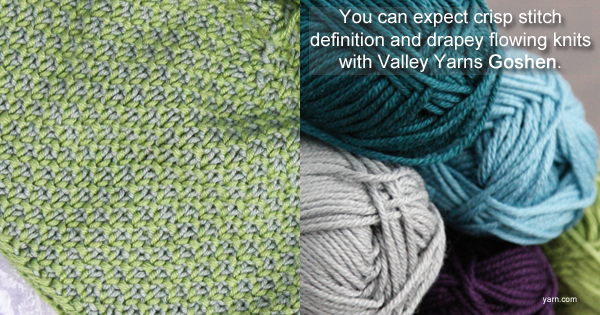 Valley Yarns Goshen! On the WEBS Blog at blog.yarn.com