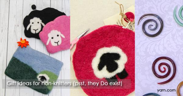 Gift ideas on the WEBS Blog at blog.yarn.com