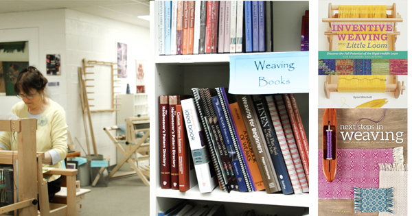 Expand your weaving skills this summer with fantastic new books! Read more on the WEBS Blog at blog.yarn.com