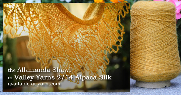 Get to know Valley Yarns 2/14 Alpaca Silk! On the WEBS Blog at blog.yarn.com