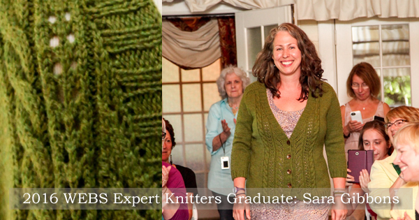 The 2016 WEBS Expert Knitters Graduates at their Capstone Ceremony. Read more on the WEBS Blog at blog.yarn.com