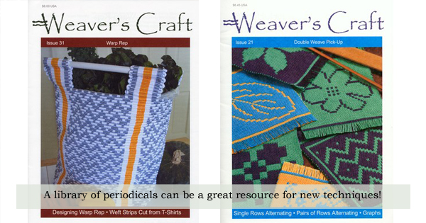 LA shares her love of resource materials for new techniques and new knowledge on the WEBS Blog at blog.yarn.com