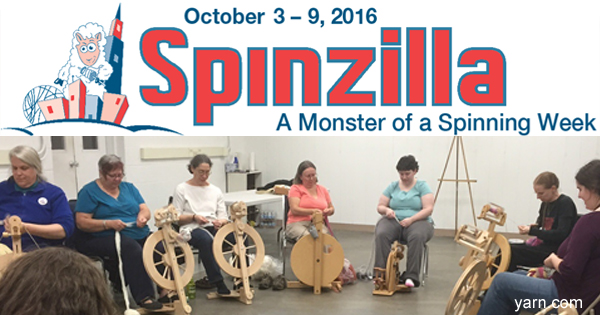 Find out how to join Team WEBS for the 2016 Spinzilla events. Read more on the WEBS Blog at blog.yarn.com