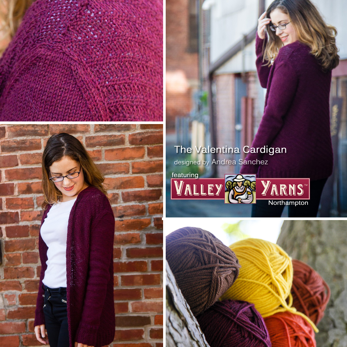 Get your copy of the Valentina Cardigan PDF and Valley Yarns Northampton at yarn.com Read more on the WEBS blog at blog.yarn.com