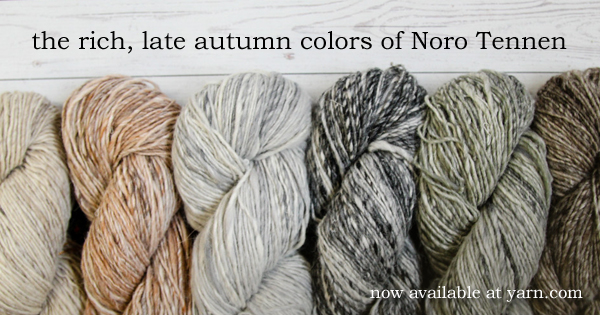 Read more about Noro Tennen on the WEBS blog at blog.yarn.com