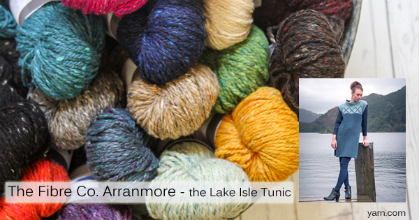 The Fibre Co. Arranmore on the WEBS Blog at blog.yarn.com