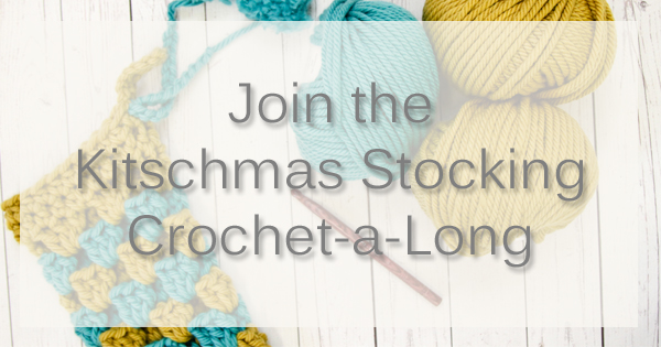 Join the Kitschmas Stocking CAL Nov 17th - 22nd. Find out more on the WEBS Blog at blog.yarn.com