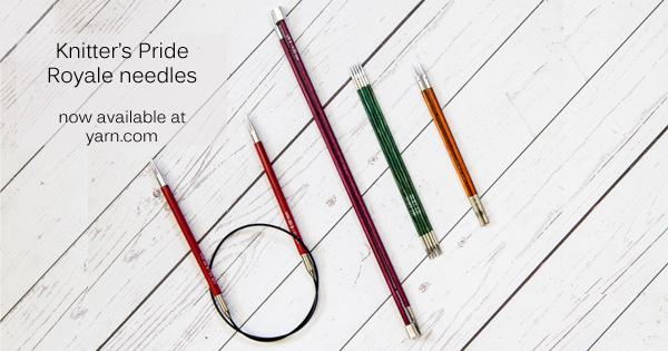 Knitter's Pride Royale Needles on the WEBS Blog at blog.yarn.com